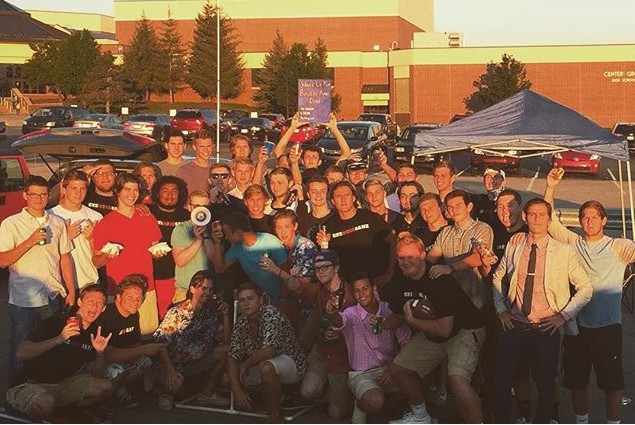 First day of school tailgate