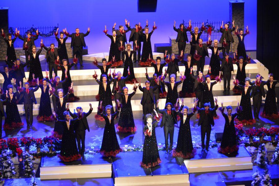 CG Choirs Put On Christmas Show Over the Weekend