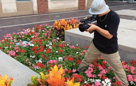Student uses filmography to showcase skateboarding talents