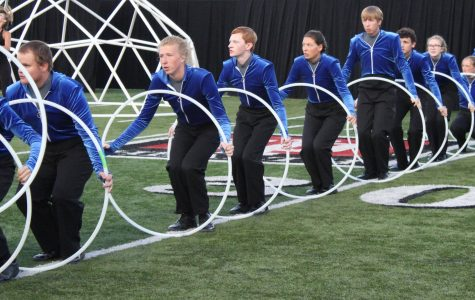 Marching band perfects