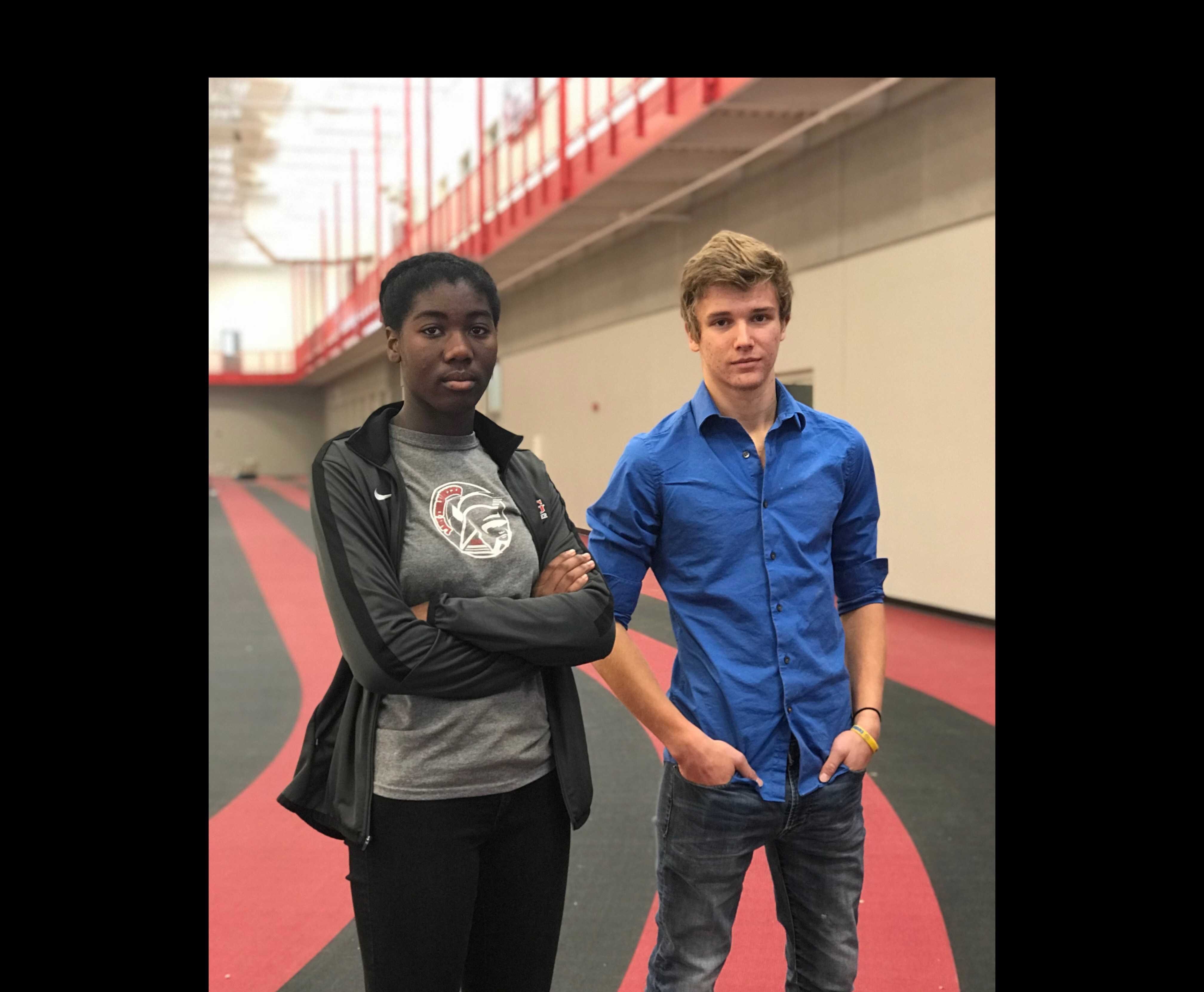 Track athletes begin indoor season outside of school competition