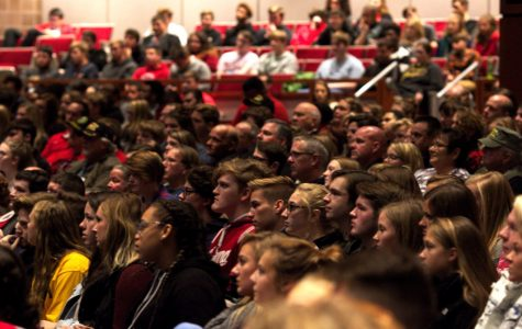 Center Grove hosts Veterans Day with guest speaker Mike Bucchi