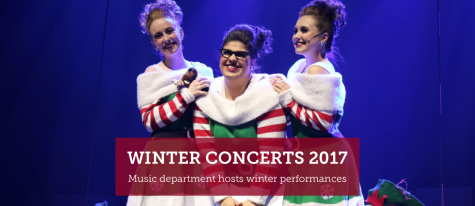 Music department hosts yearly winter concerts