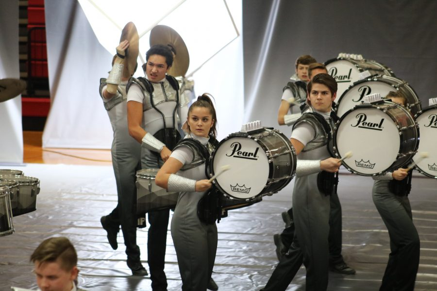 Indoor+percussion+creates+new%2C+futuristic+sound