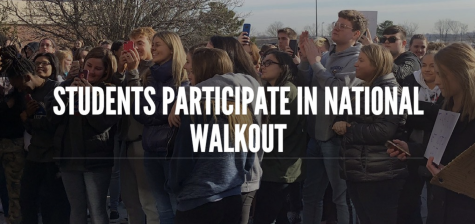 Student-organized walkout part of national movement