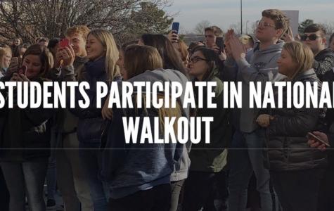 Student-organized walkout part of national movement