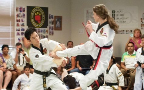 Sophomore black belt excels in Tae Kwon Do