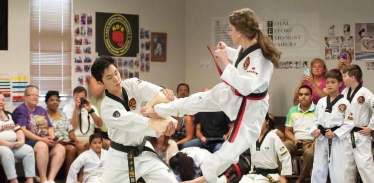 Sophomore+black+belt+excels+in+Tae+Kwon+Do