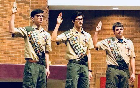 Freshman Josh Cornelius earns highest rank in Scouts