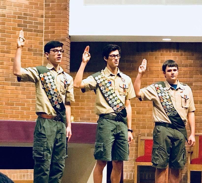 Freshman+Josh+Cornelius+earns+highest+rank+in+Scouts