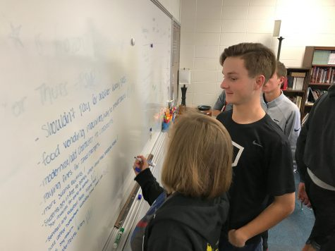 RSVP committee helps make student related changes to the school
