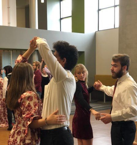 Early College seniors take part in first ever Regency Ball