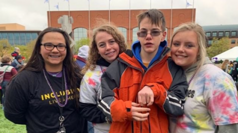 Best buddies club attends nationwide friendship walk