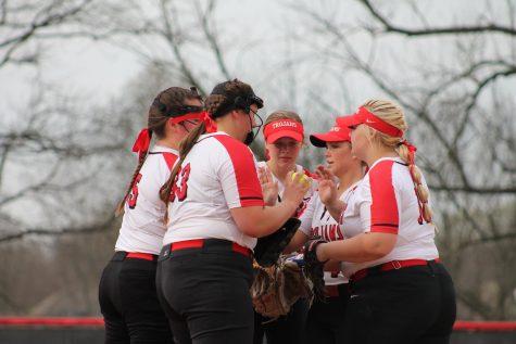 Girls softball looks to avenge last seasons loss and reclaim county title