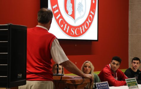 Senior athletes honored at signing ceremony