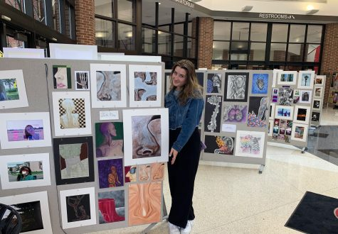 Students Showcase Art at the End of High School Career