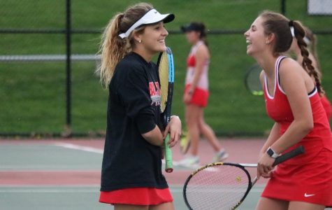 Girls tennis opens sectional tournament against Franklin Grizzlies