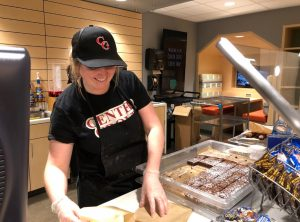 Cafe gets new baker, new brownie bites