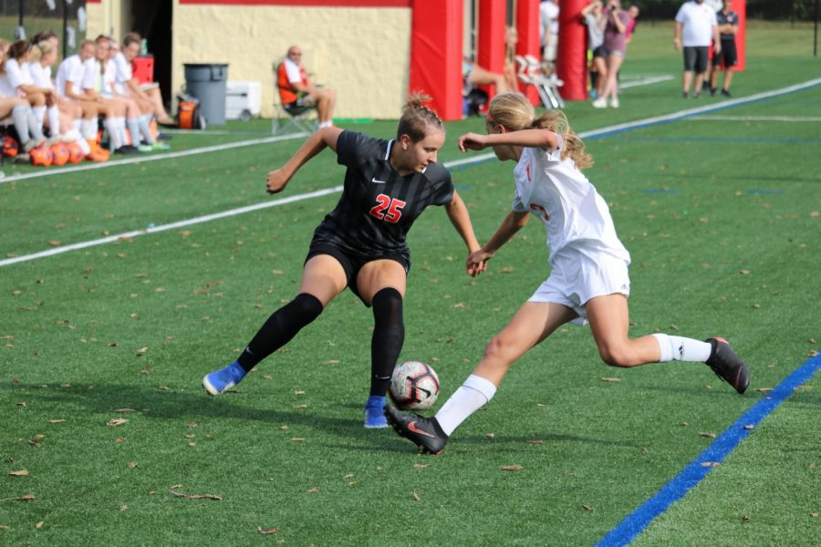 Girls Soccer takes on Carmel tonight for MIC title