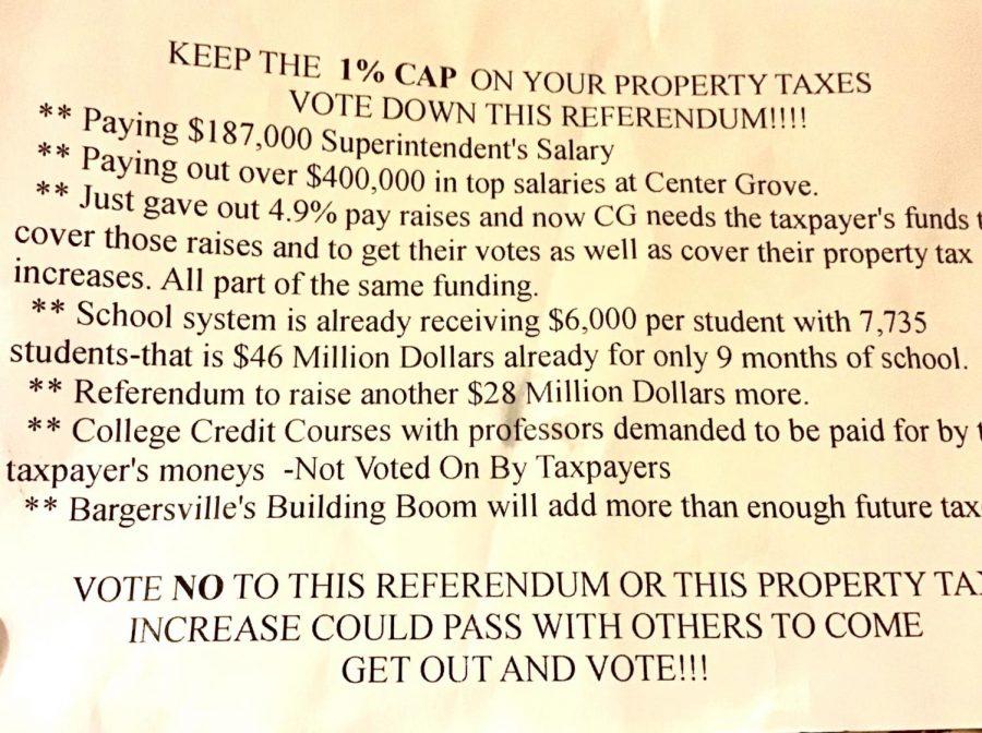 Fact-Check: Referendum Flyer