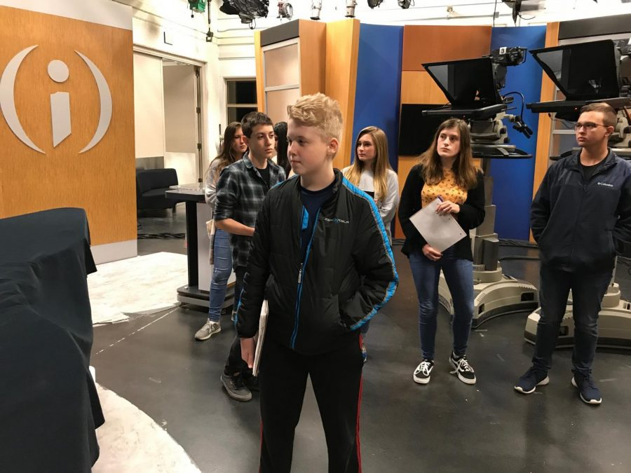 Pubs Club Takes Field Trip to WFYI