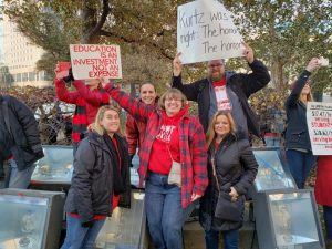 Red for Ed rally at statehouse draws over 15,000 educators