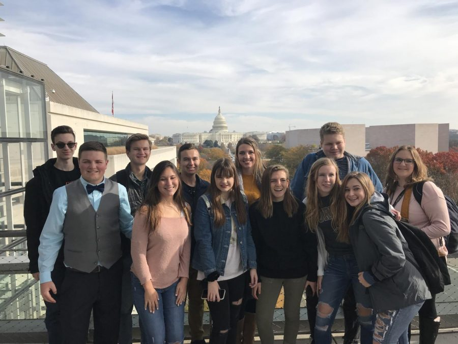 Publications students travel to Washington, D.C.