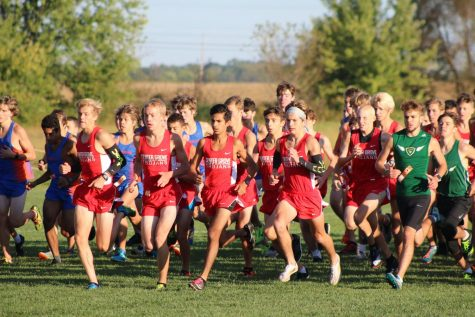 Cross Country teams take on New Pal during annual halftime meet tonight