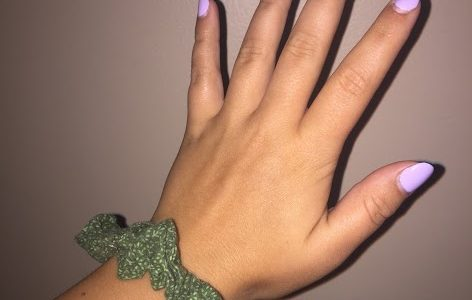 Senior starts scrunchie business and donates proceeds to charity in Brazil