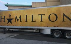 The semi-truck for the touring Hamilton production.