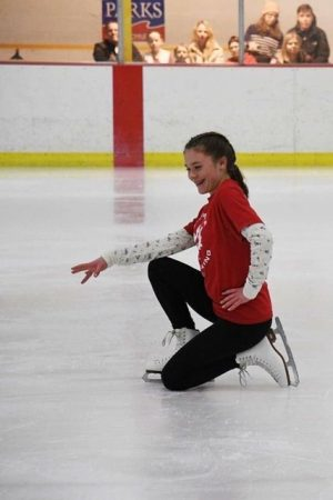 Freshman pursues competitive figure skating