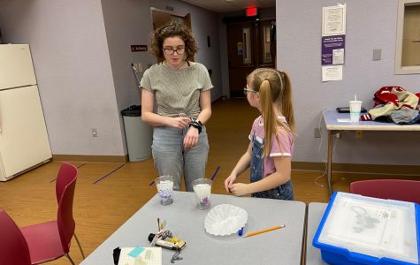 Senior starts youth robotics teams for Girls Scout award