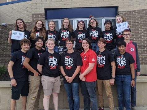 Robotics Team Begins Building Season