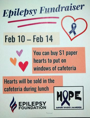 Key Club hosts fundraiser for children with epilepsy