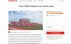 Student starts petition to postpone, not cancel, prom