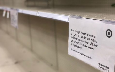 Toilet paper has become one of the most sought after items in light of many worrying about isolation due to COVID-19. Target, like many other grocery stores, has resorted to limiting how much can be purchased by guests to prevent further shortage.