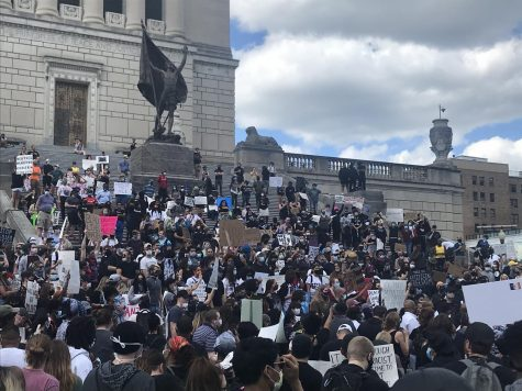 Protests occurred over the summer in support of the Black Lives Matter movement across the country.