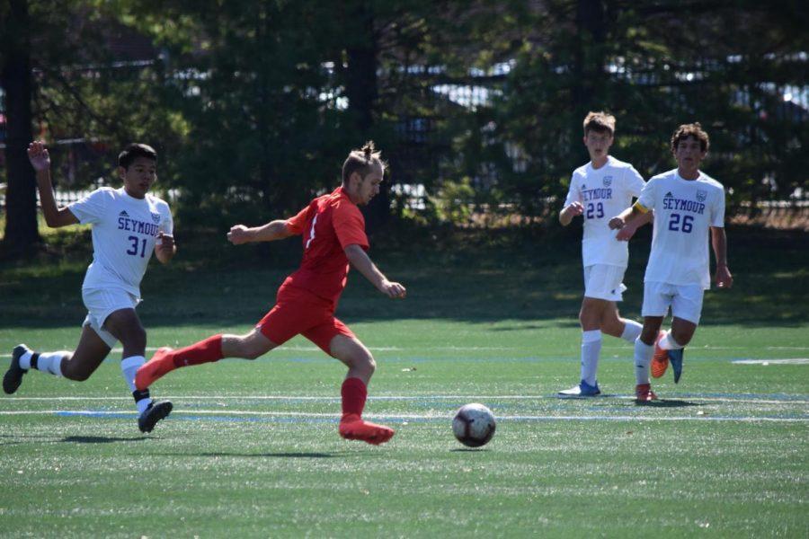 Senior Captain Aaron McDaniel Leads Boys Soccer Team