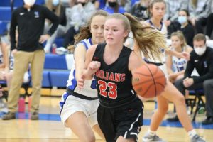Girls basketball hosts pair of Top 10 teams
