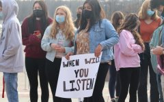 Student-led walkout protests return to full in-person learning