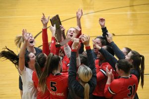 Girls volleyball wins seventh consecutive sectional title