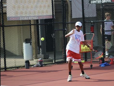 Boys tennis enters semi-state with three freshman players